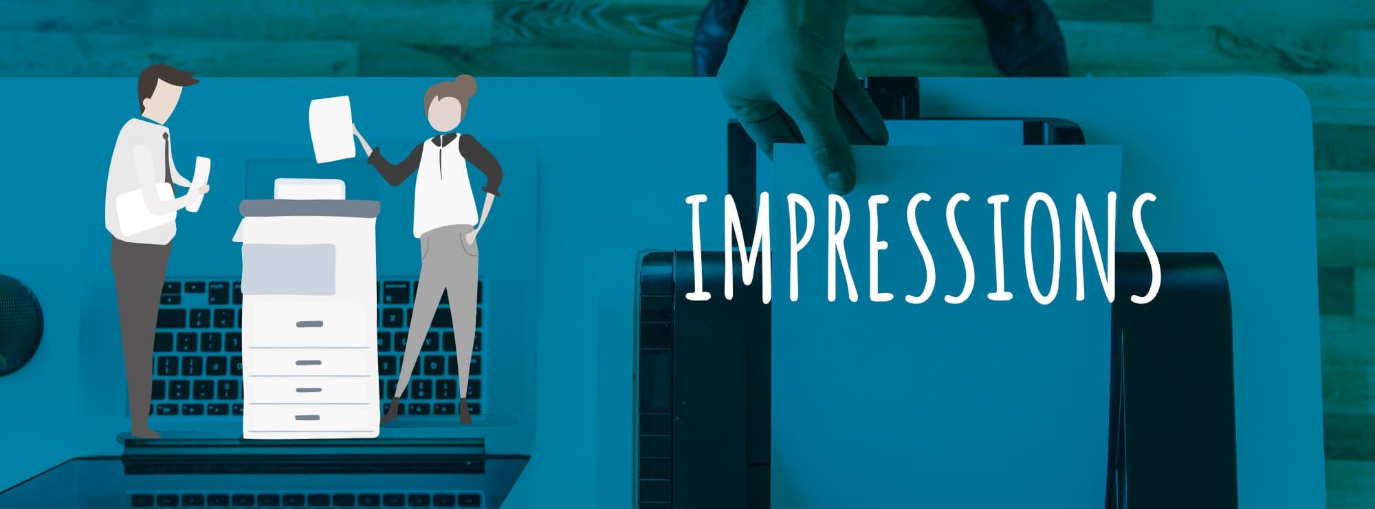 Slide-impressions